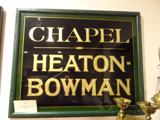 Saint Joseph, MO: Chapel Heaton-Bowman sign