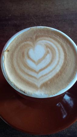 Hacienda Pomarrosa : Cafe con leche