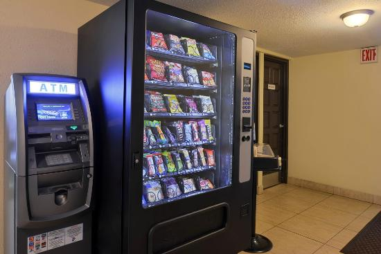 atm vending machine picture of magnuson hotel clearwater central