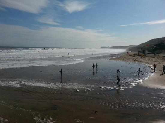 Cliff View: Fantastic beach