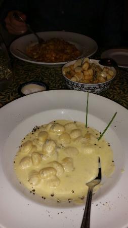 La Bella Vita: Amazing 4 Cheese Gnocchi, Potatoes with Garlic and Rosemary and Tagliatelle in a Ragu Sauce.