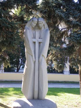 Памятник с крестом Фили Эконом памятник Купола Назрань