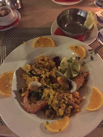Hotel Tigaiga: Paella