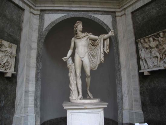 Storiaviva Viaggi: Musei Vaticani: Apollo del Belvedere