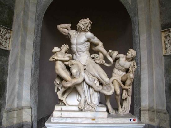 Storiaviva Viaggi: Musei Vaticani: Laocoonte