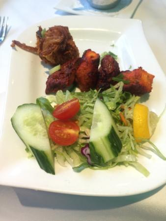 Shah Jahan Indian Restaurant: Mixed kebab