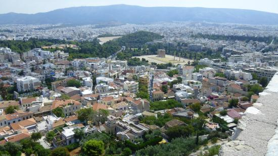 Katakolon Express: Athènes vue de l'Acropole