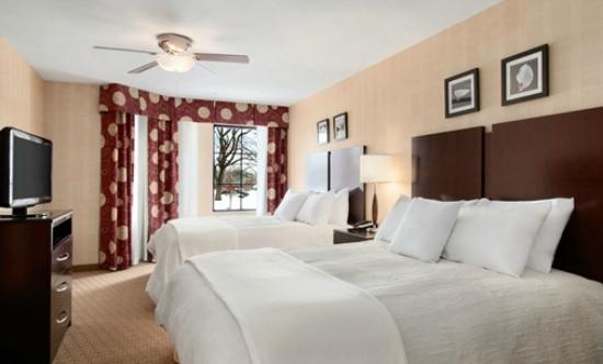 Homewood Suites by Hilton Newtown - Langhorne, PA: Double Queen Beds