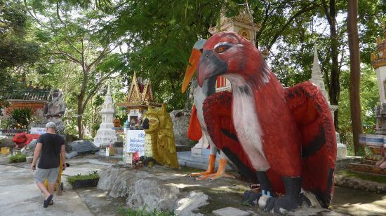 Thung Khao Luang, Thailand: Giant figure Wat Pa Non Sawan