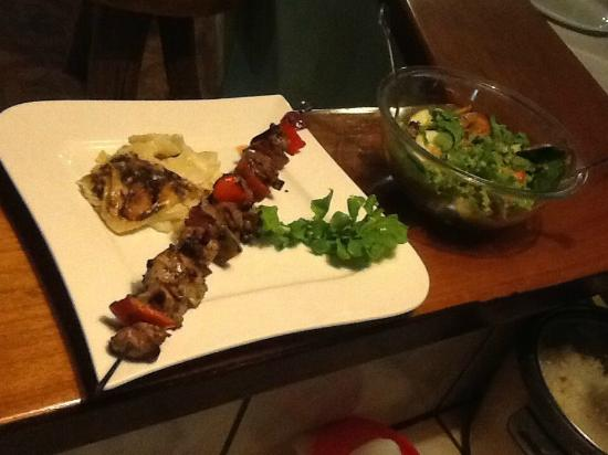 Le Bistrot Giardino Tropicale: Lamkebab