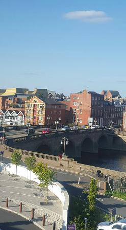 Premier Inn Worcester City Centre Hotel View From Room 306