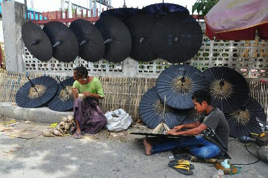 Mandalay Handicraft Tour Picture Of Myanmar Rendezvous Yangon