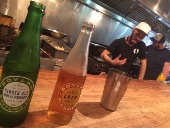 The Stockyards Smokehouse & Larder: Awesome eats! Great soda too.