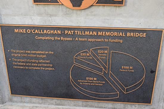 Mike O Callaghan Pat Tillman Memorial Bridge Panorama Picture Of Mike O Callaghan Pat Tillman