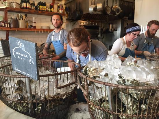 The Walrus and the Carpenter: Shucking those oysters!