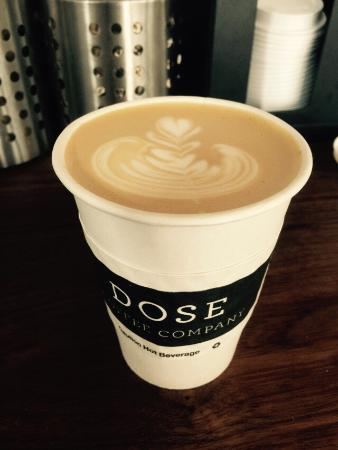 DOSE Coffee Co.: Flat White. Just delicious