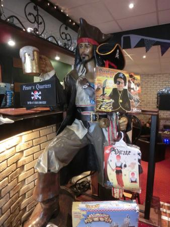 The Pirate Restaurant: Watch out for Jack Sparrow!
