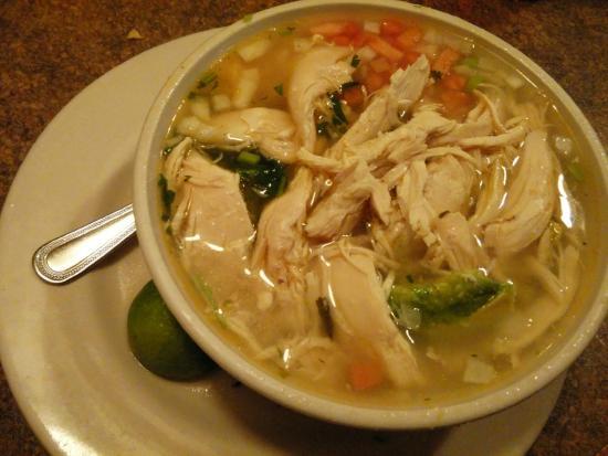 El Nopal Mexican Restaurant: chicken soup