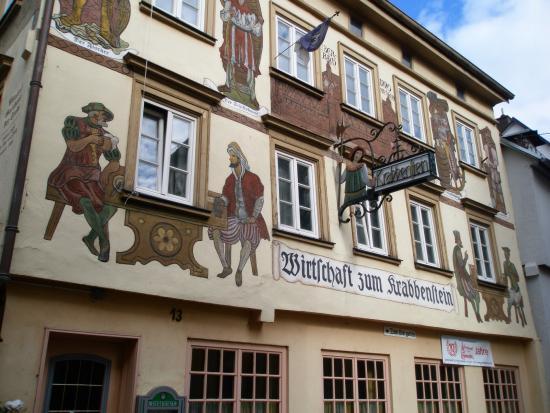Eberbach, เยอรมนี: Wirtschaft zum Krabbenstein