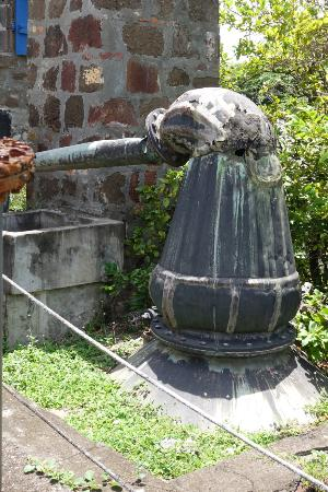 Saint David Parish, Γρενάδα: Old French copper still