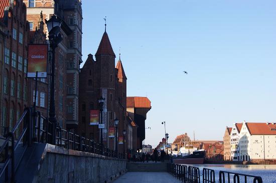Hostel Cycle On: Ворота-кран (Журав) в Гданьске