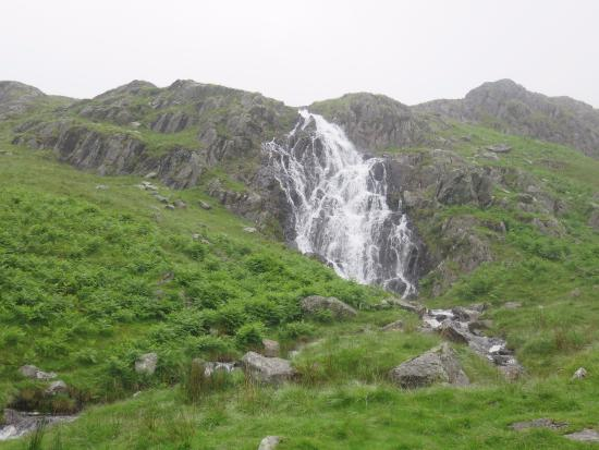 North Yorkshire, UK: Waterfall between Rosthwaite and Grasmere