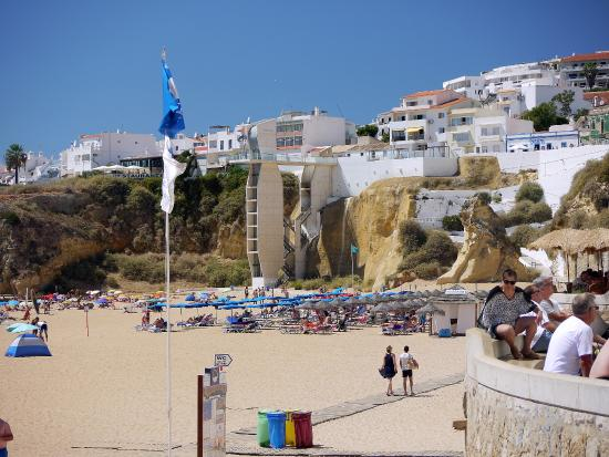 The Beach At The Old Town Albufeira Picture Of Colina Do