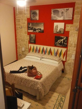 Antico Borgo : camera rossa