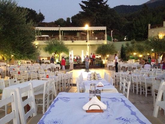 Fantasia restaurant music hall kolimbia restaurant avis for Kos milano ristorante