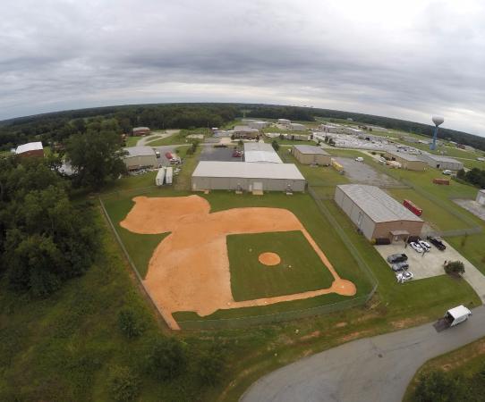 Byron, Τζόρτζια: Baseball Fields behind Game On