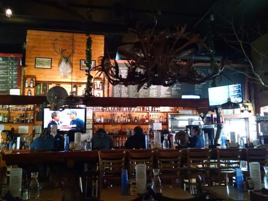 Healy, Αλάσκα: The bar itself