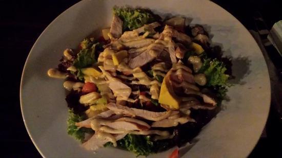 Grand Cafe de Heeren: Chicken salad