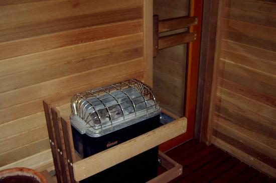 Chumayo Spa: One of our Cedar Saunas
