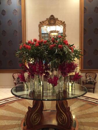The Langham: Always Fresh Flowers