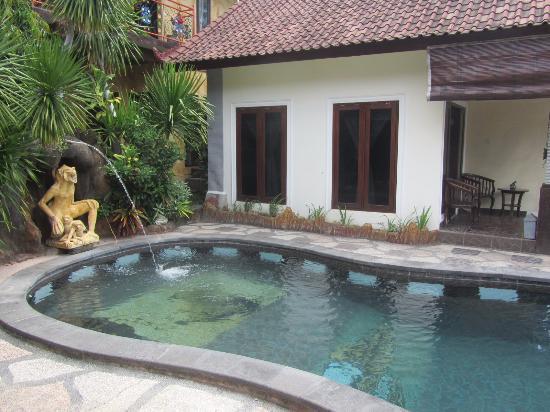 Bali Permai Tulamben Bungalows: piscina do hotel