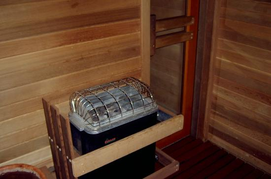 Blue Lake, Kalifornia: One of our Cedar Saunas