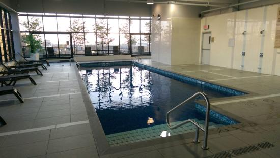 Superior Hilton Garden Inn Montreal Centre Ville: Pool On The 11th Floor Gallery