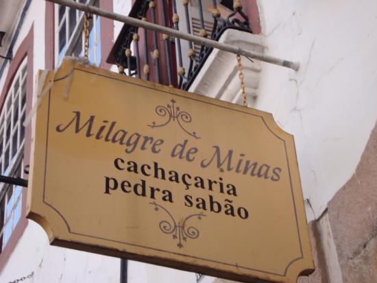 Cachaçaria Milagre de Minas