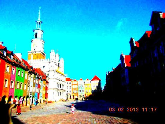 Hostel La Guitarra : Beautiful medieval town