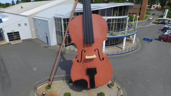 The Big Fiddle by drone - Picture of The Big Fiddle, Sydney