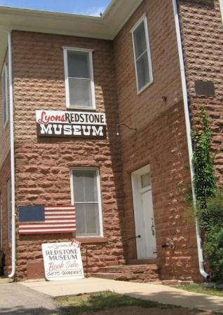 Lyons, CO: Museum is made out of local red sandstone