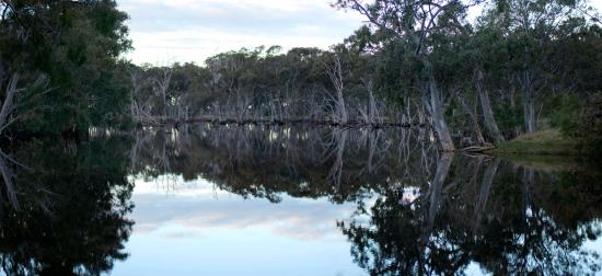 Kangaroo Island, Australia: Sunset at Duck Lagoon in the wetter months, well worth the visit
