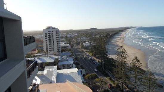 Coolum Beach, أستراليا: Coolum Beach from 11th floor