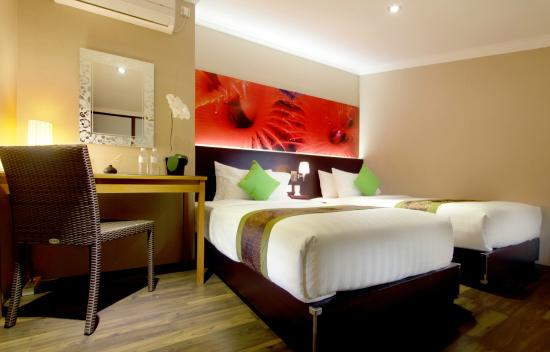 The Banyumas Villa: Two Bedroom Family Suite - Upper Room