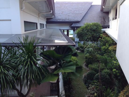 Hotel Francesko: Inner Garden Viewed From 2/F