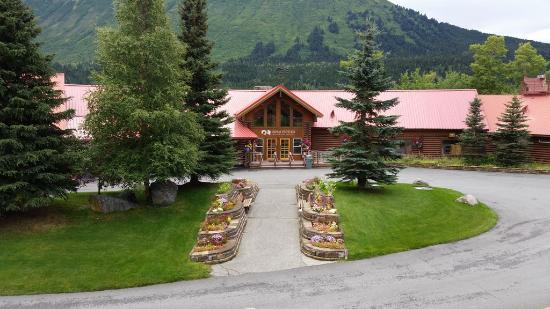 Kenai Princess Wilderness Lodge: Main Lodge at Kenai