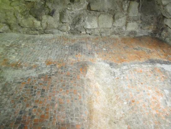 Roman Floor Tiles Under Church Picture Of All Hallows By The Tower