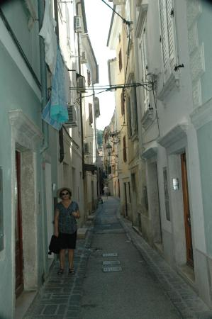 Hotel Histrion: another view of the streets in Piran