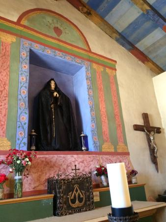 Mission Nuestra Senora de la Soledad: Our Lady of Soledad is surrounded by green agriculture