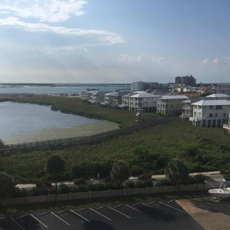 Jetty East Condominiums: the View from 620a